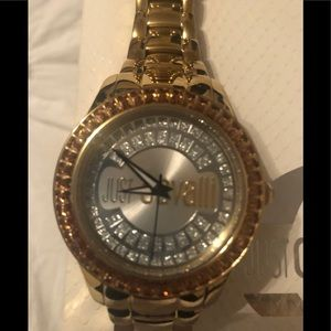 AUTHENTIC JUST CAVALLI gold watch